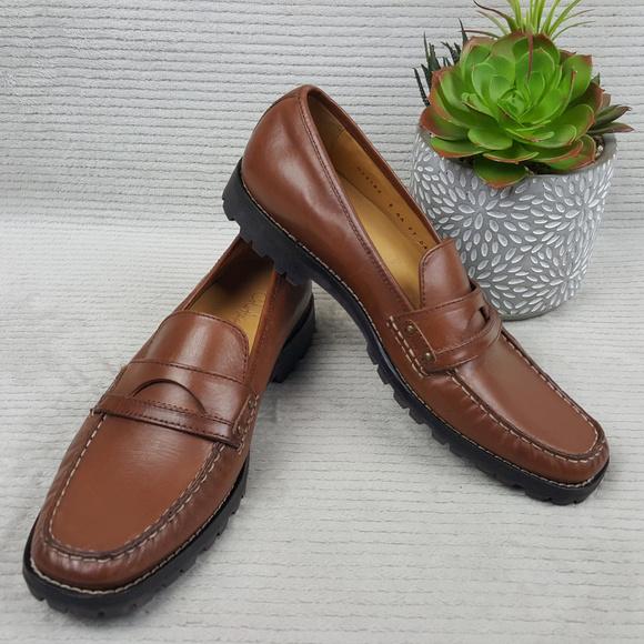 Cole Haan Shoes | Cole Haan Moc Toe Lug
